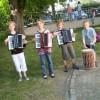 Auftritt Akkordeon Quartett