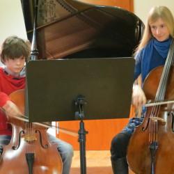 Unterrichtsimpressionen Violoncello