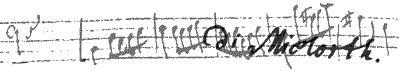 "Anagramm ""Mi(e)lorth""."
