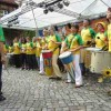 """Samba(trommel)Band """"Com gosto"""" Auftritt"""