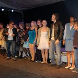 """Musical """"Linie 1"""" Aufführung 24.06.2011 in Spremberg"""